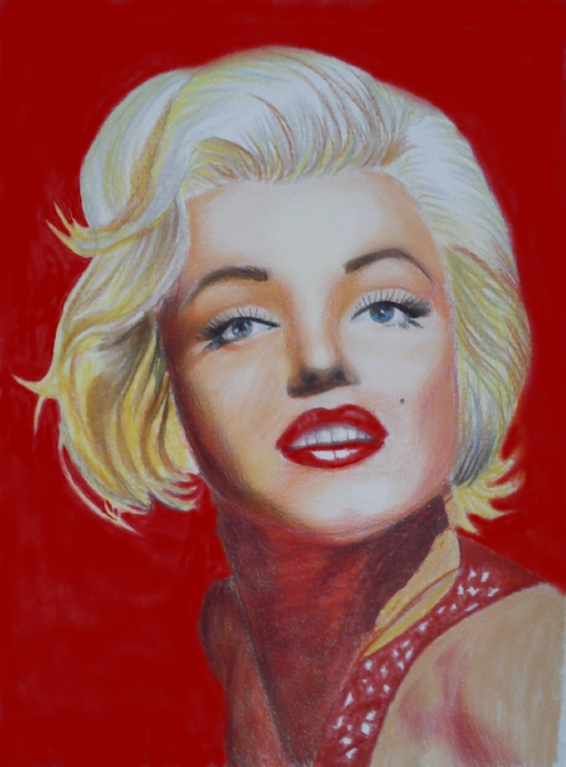 Marilyn Monroe by Paulina123